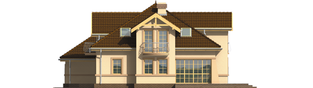 Projekt domu Artemida G2 - elewacja prawa