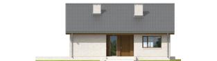 Projekt domu Rafael V - elewacja frontowa