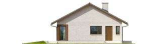 Projekt domu Rafael V - elewacja lewa