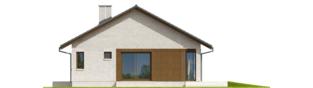 Projekt domu Rafael V - elewacja prawa