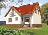 Projekt rodinného domu: Zita