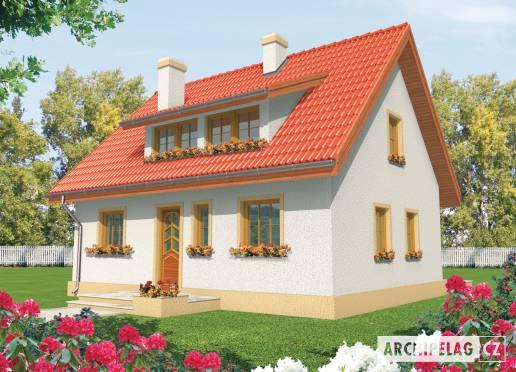 Projekt rodinného domu - Calinka
