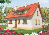 Projekt rodinného domu: Calinka