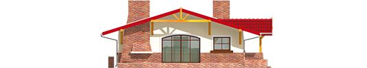 Emilia - Projekt domu Emilia - elewacja lewa