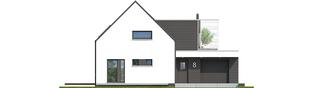 Projekt domu Markus G1 - elewacja frontowa