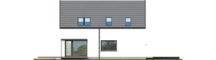 Projekt domu Markus G1 - elewacja lewa