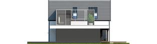 Projekt domu Markus G1 - elewacja prawa