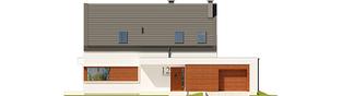 Projekt domu Patryk IV G1 - elewacja frontowa