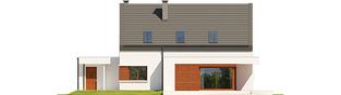 Projekt domu Patryk IV G1 - elewacja tylna