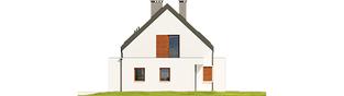Projekt domu Patryk IV G1 - elewacja prawa