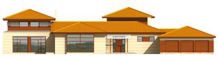 Projekt domu Dionizy G3 - elewacja frontowa
