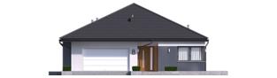 Projekt domu Tanita III G2 ENERGO PLUS - elewacja frontowa