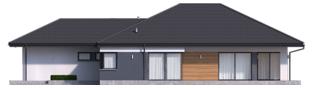 Projekt domu Tanita III G2 ENERGO PLUS - elewacja prawa