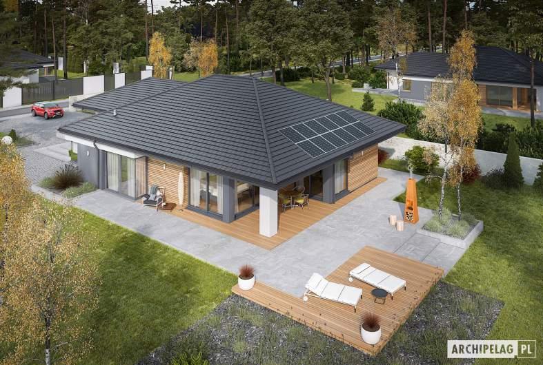 Projekt domu Tanita III G2 ENERGO PLUS - widok z góry