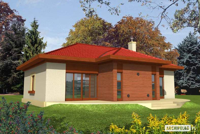 Projekt domu Jagna -
