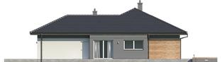 Projekt domu Dominik G2 (wersja A) - elewacja prawa