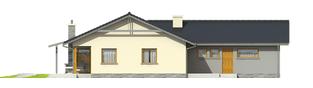Projekt domu Selena G2 (30 stopni) - elewacja prawa
