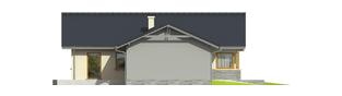 Projekt domu Selena G2 (30 stopni) - elewacja lewa