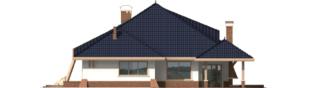 Projekt domu Wacław G2 - elewacja tylna