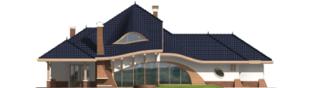 Projekt domu Wacław G2 - elewacja prawa
