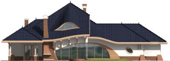 Vin G2 - Projekt domu Wacław G2 - elewacja prawa