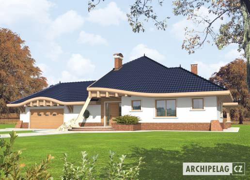 Projekt rodinného domu - Václav