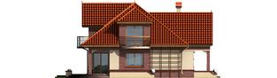 Projekt domu Liwia G1 - elewacja lewa