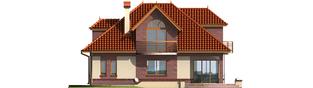 Projekt domu Liwia G1 - elewacja tylna