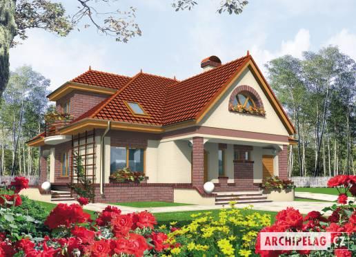 Projekt rodinného domu - Lívie