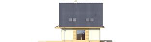 Projekt domu Adriana - elewacja lewa
