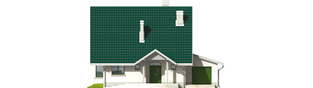 Projekt domu Hania G1 - elewacja frontowa
