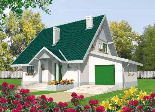 Mājas projekts - Hania (ar garāžu)