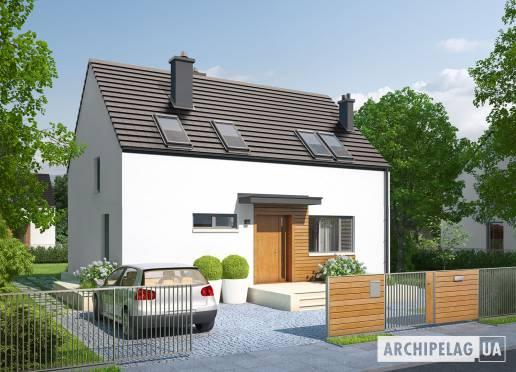 Проект будинку - Е1 II (Економ, версія А)