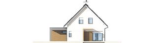 Projekt domu Tobiasz II G2 MULTI-COMFORT - elewacja prawa