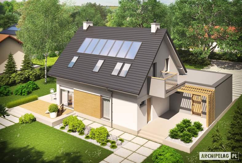 Projekt domu Tobiasz II G2 MULTI-COMFORT - widok z góry