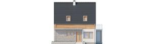 Projekt domu Apolonia - elewacja frontowa