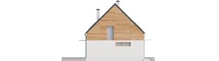 Projekt domu Apolonia - elewacja lewa