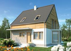 Projekt rodinného domu: Apolena