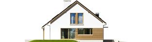 Projekt domu Alba G1 MULTI-COMFORT - elewacja lewa