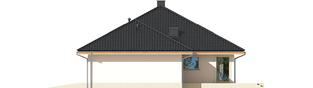 Projekt domu Flori III G1 ECONOMIC (wersja A) - elewacja prawa
