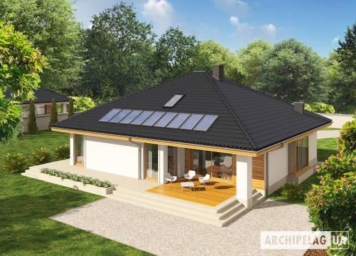 Проект будинку - Флорі ІІІ (Г1, Економ, версія А)