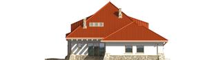Projekt domu Gustaw G2 - elewacja lewa