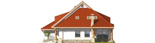 Projekt domu Gustaw G2 - elewacja prawa