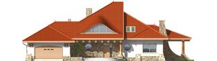 Projekt domu Gustaw G2 - elewacja frontowa