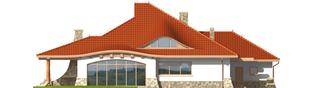Projekt domu Gustaw G2 - elewacja tylna