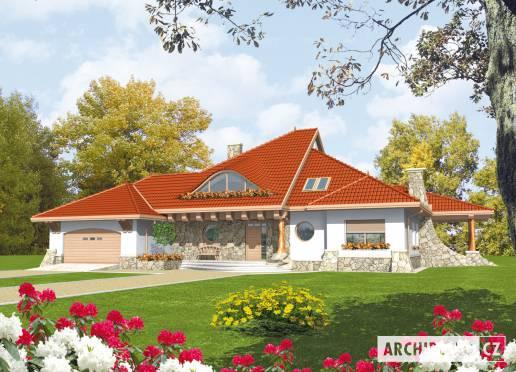 Projekt rodinného domu - Gustav