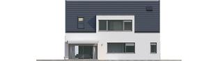 Projekt domu Neo G1 ENERGO PLUS - elewacja lewa
