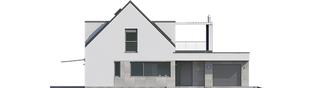 Projekt domu Neo G1 ENERGO PLUS - elewacja frontowa