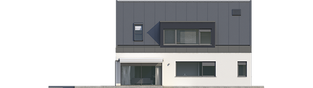 Projekt domu Neo II G1 ENERGO - elewacja lewa
