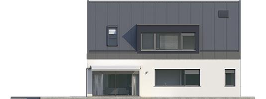 Neo II G1 A++ - Projekt domu Neo II G1 ENERGO - elewacja lewa
